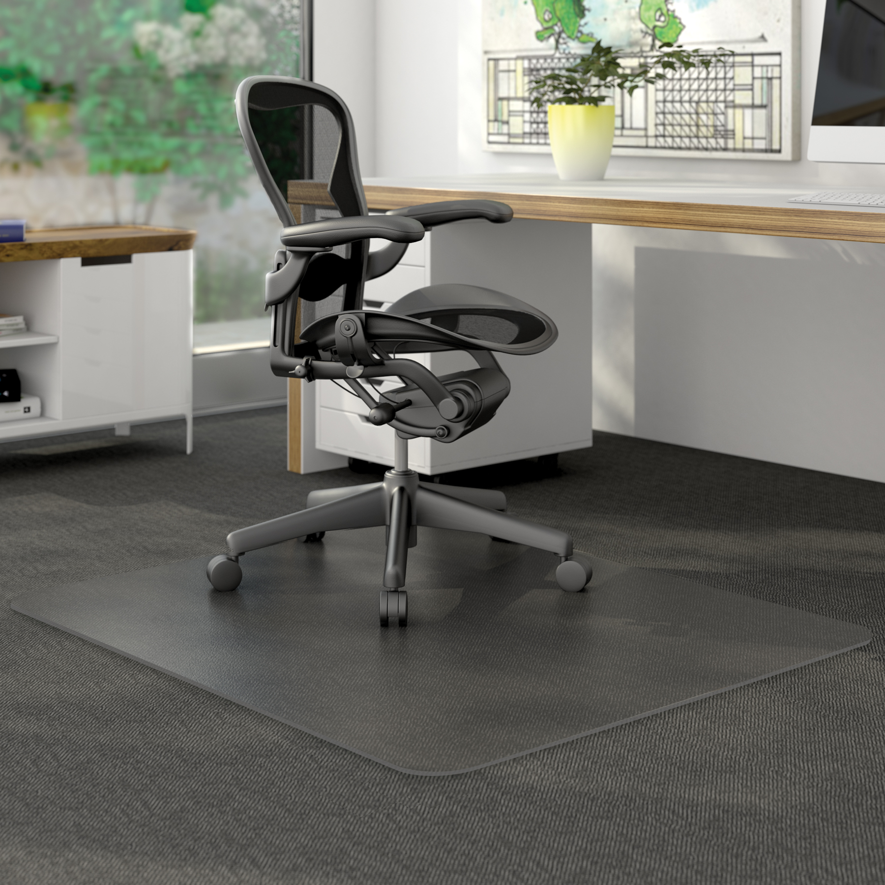 for mat office floor transparent anti static carpet mats chair