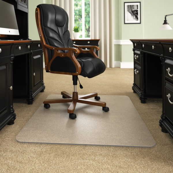 Static Mat For Office : Execumat thickest best selling opaque chair mats