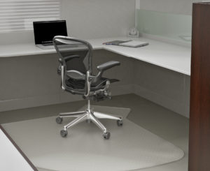 L workstation beaker mat