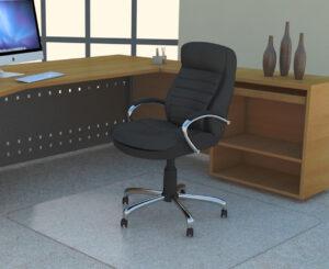 No dishing chairmat PC
