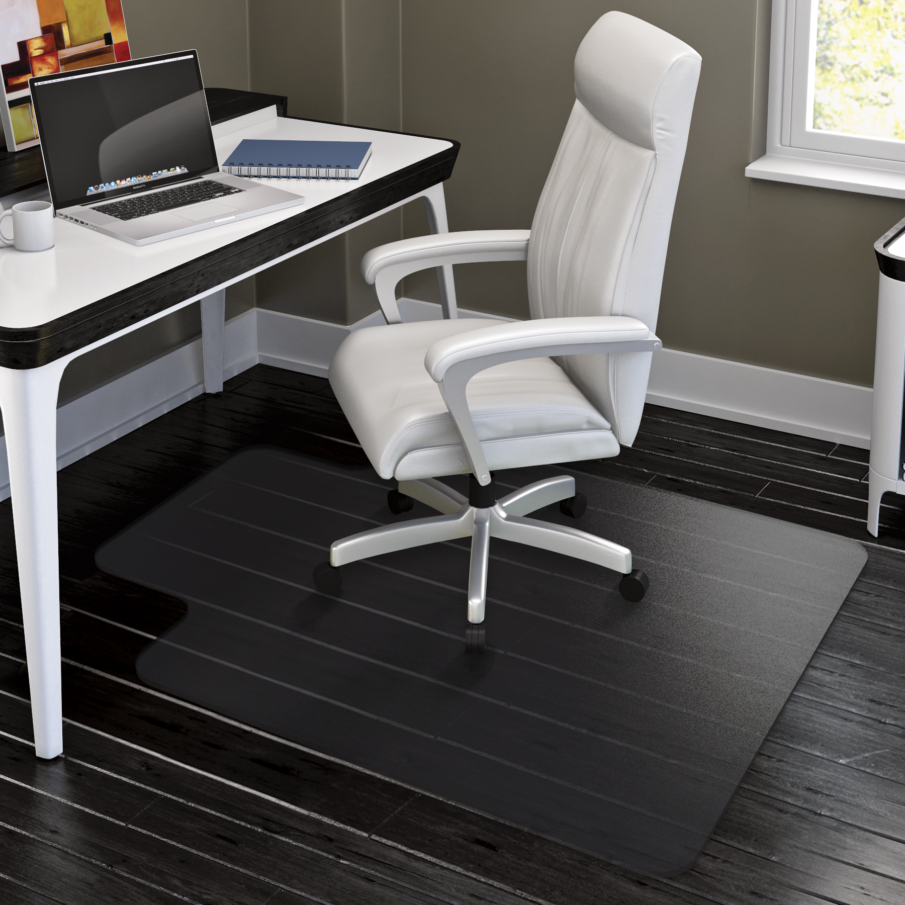 formydesk original chairmat pile mats lip office lorell floor standard com products low economy