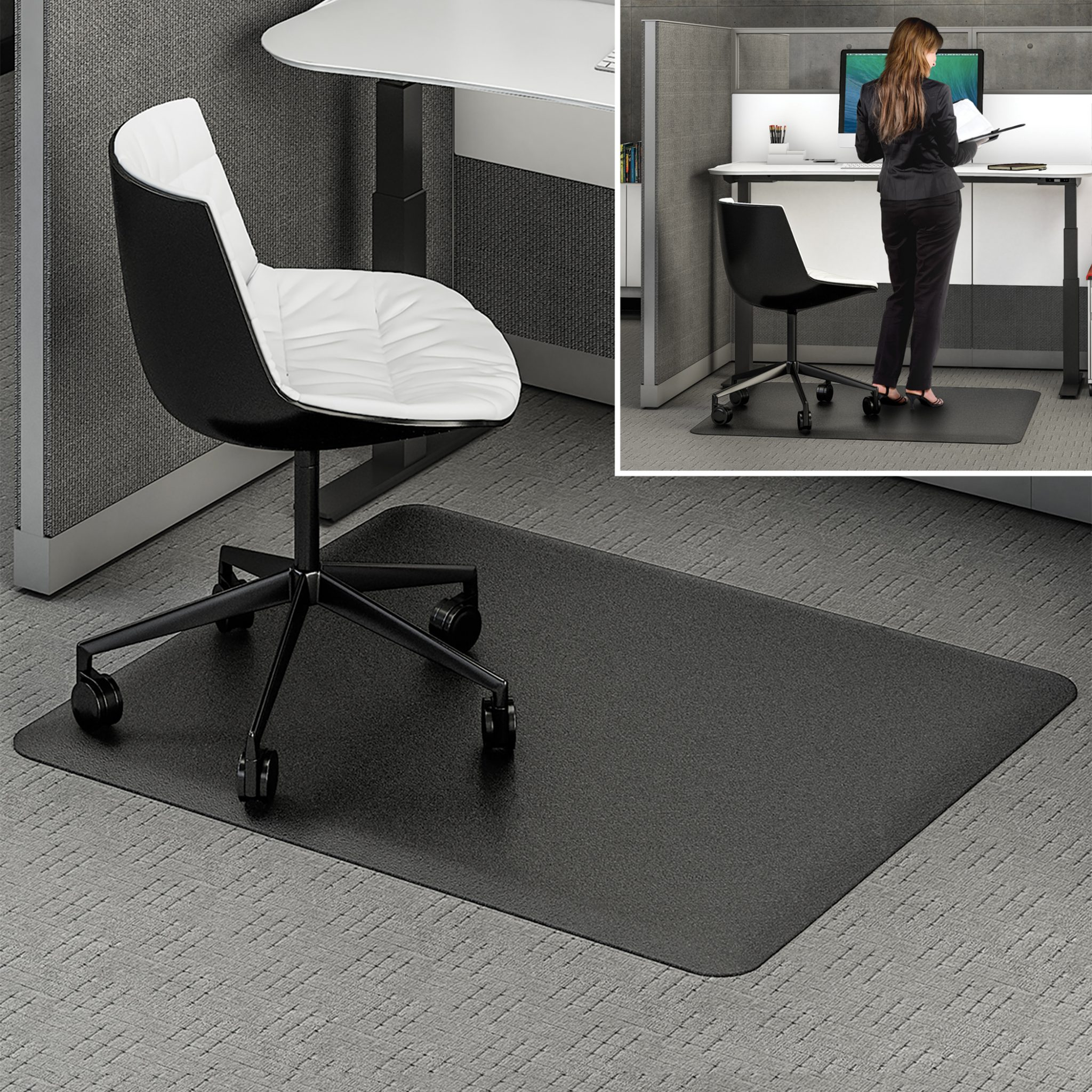 mats chair walmart mat hardwood with desk floors for roller office floor